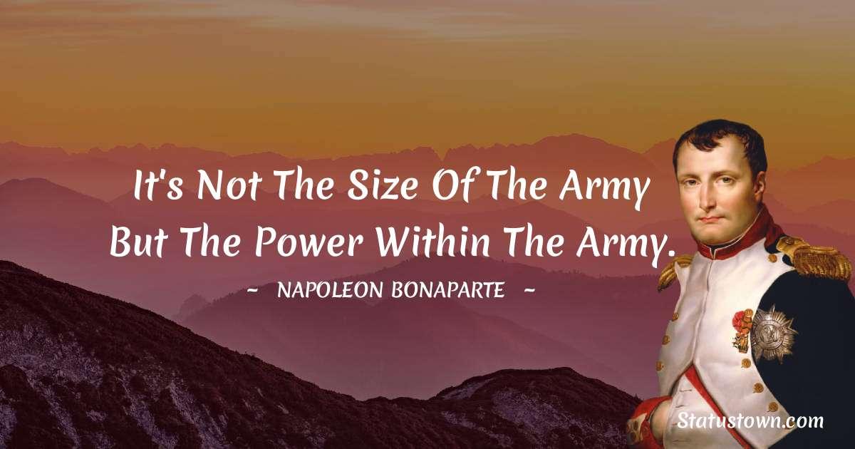 Napoleon Bonaparte Inspirational Quotes