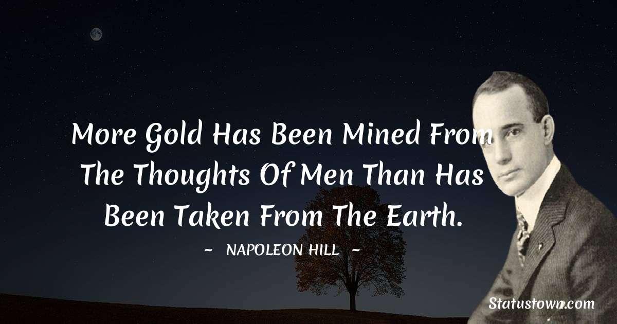 Napoleon Hill Status