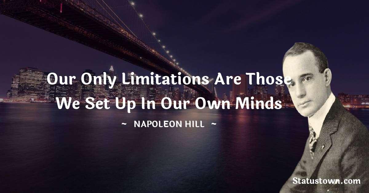 Napoleon Hill Short Quotes