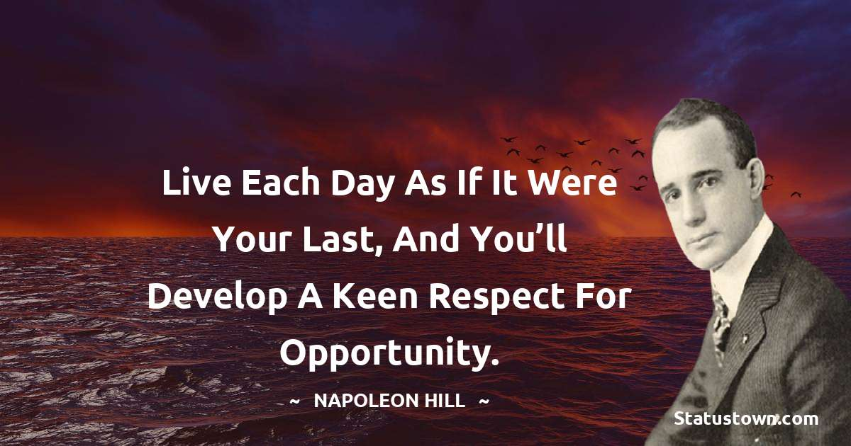 Napoleon Hill Motivational Quotes