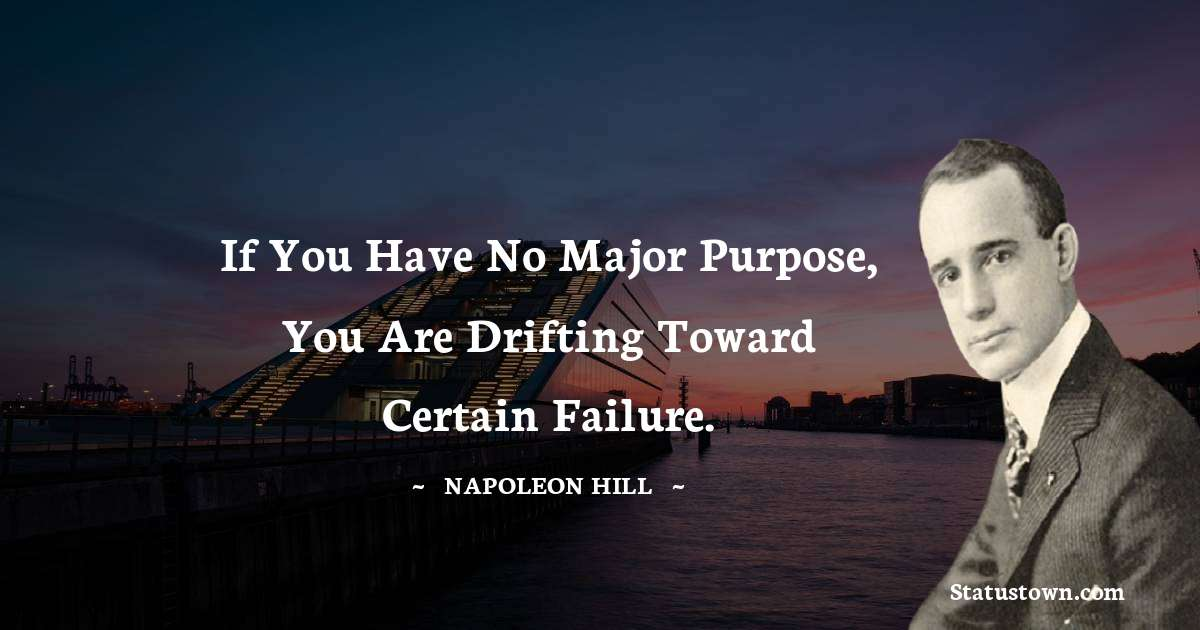 Napoleon Hill Positive Quotes