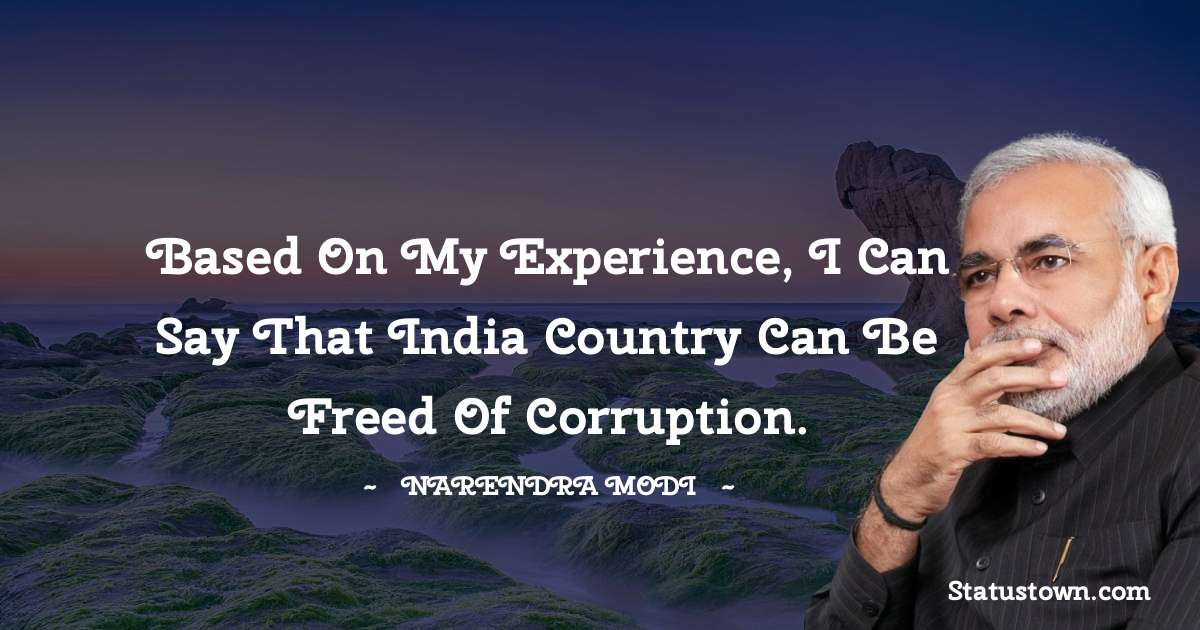 Narendra Modi Positive Thoughts
