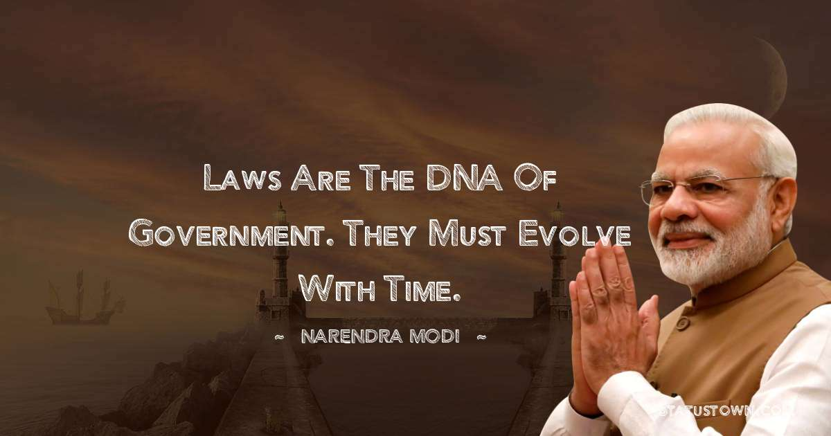 Narendra Modi Motivational Quotes