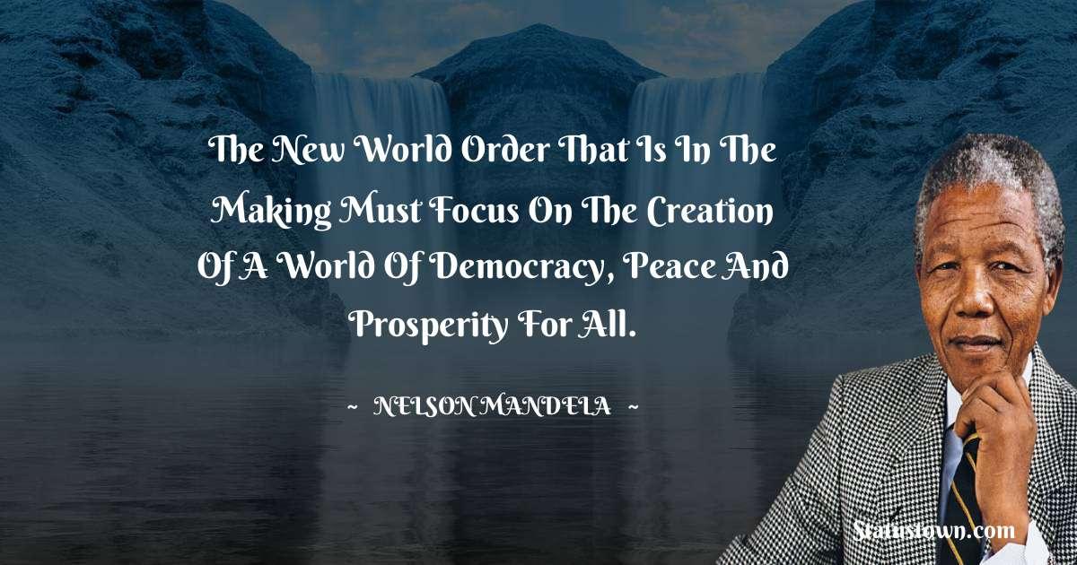 Nelson Mandela Status