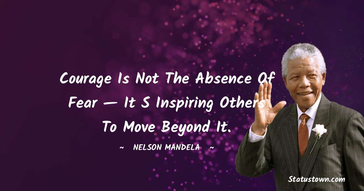 Nelson Mandela Positive Thoughts