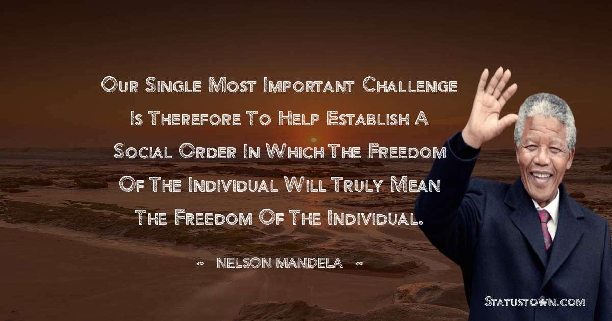 Nelson Mandela Thoughts