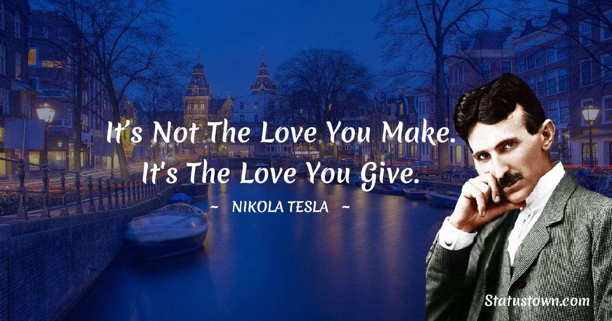 Nikola Tesla Inspirational Quotes