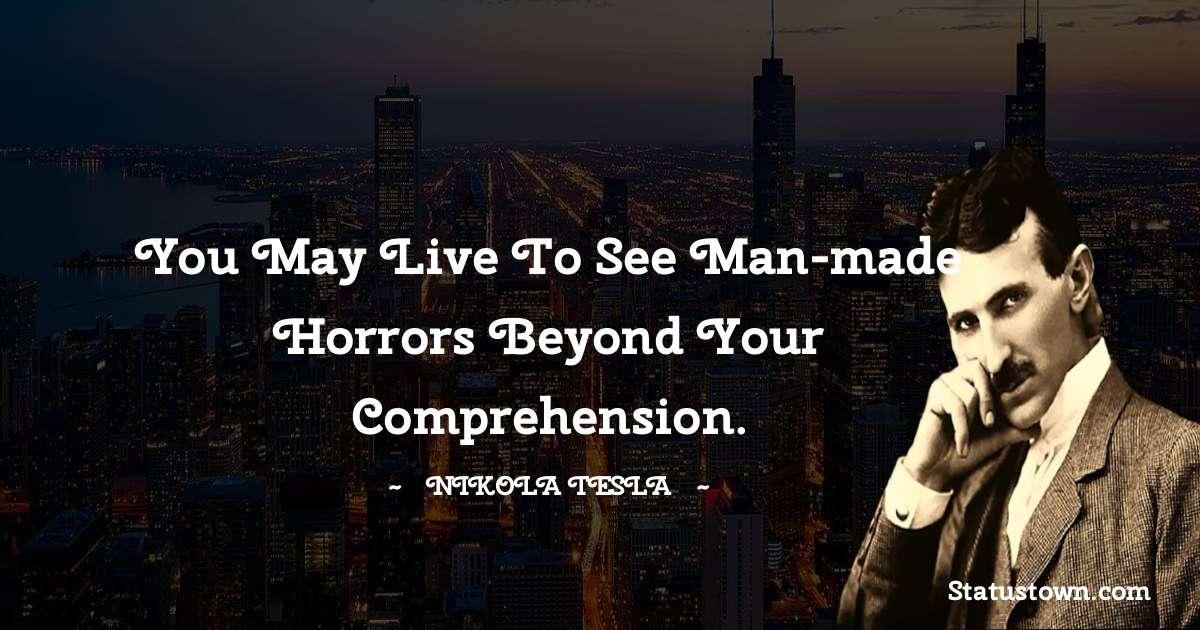 Nikola Tesla Positive Quotes