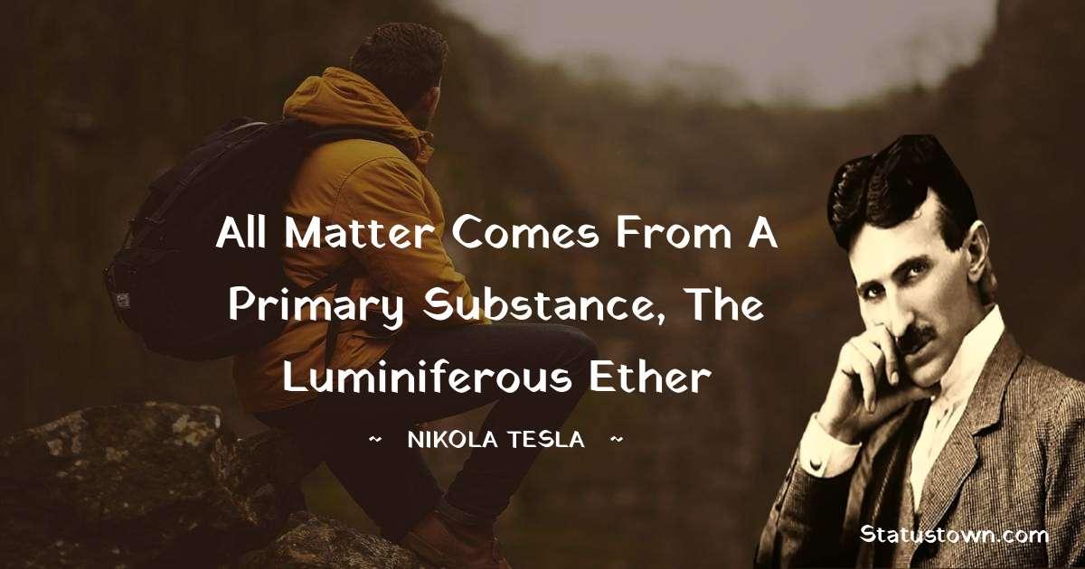 Nikola Tesla Thoughts
