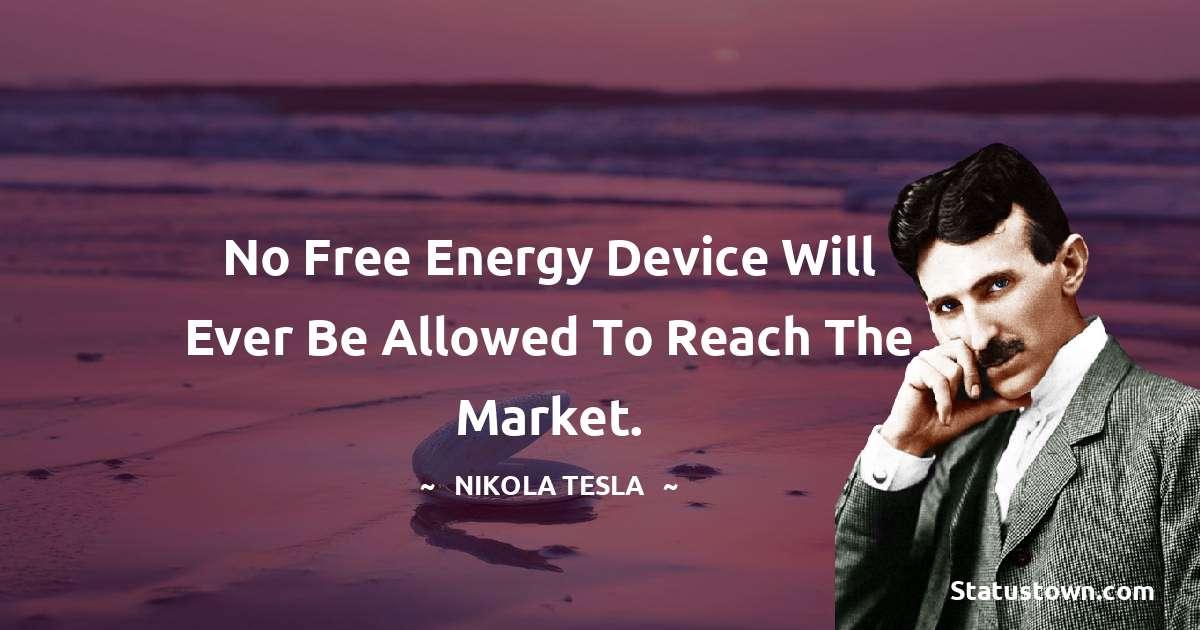 Nikola Tesla Unique Quotes