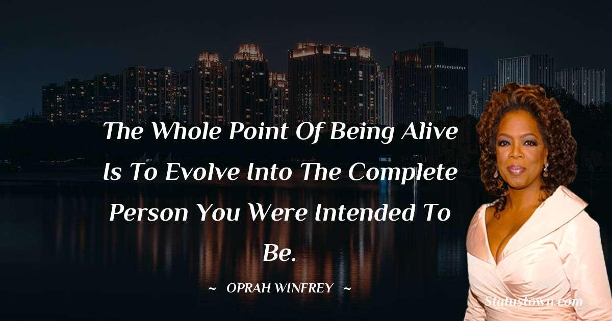Oprah Winfrey   Inspirational Quotes
