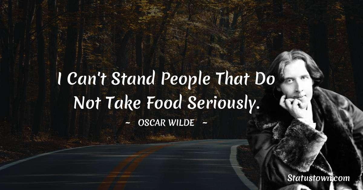 Oscar Wilde  Short Quotes