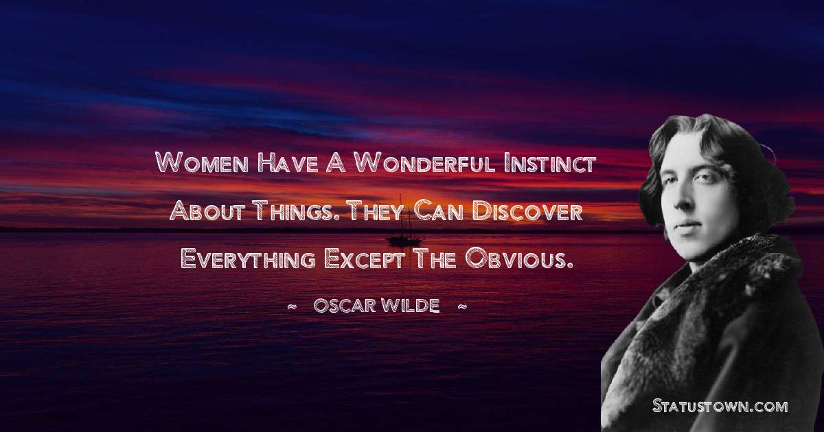 Oscar Wilde  Positive Quotes