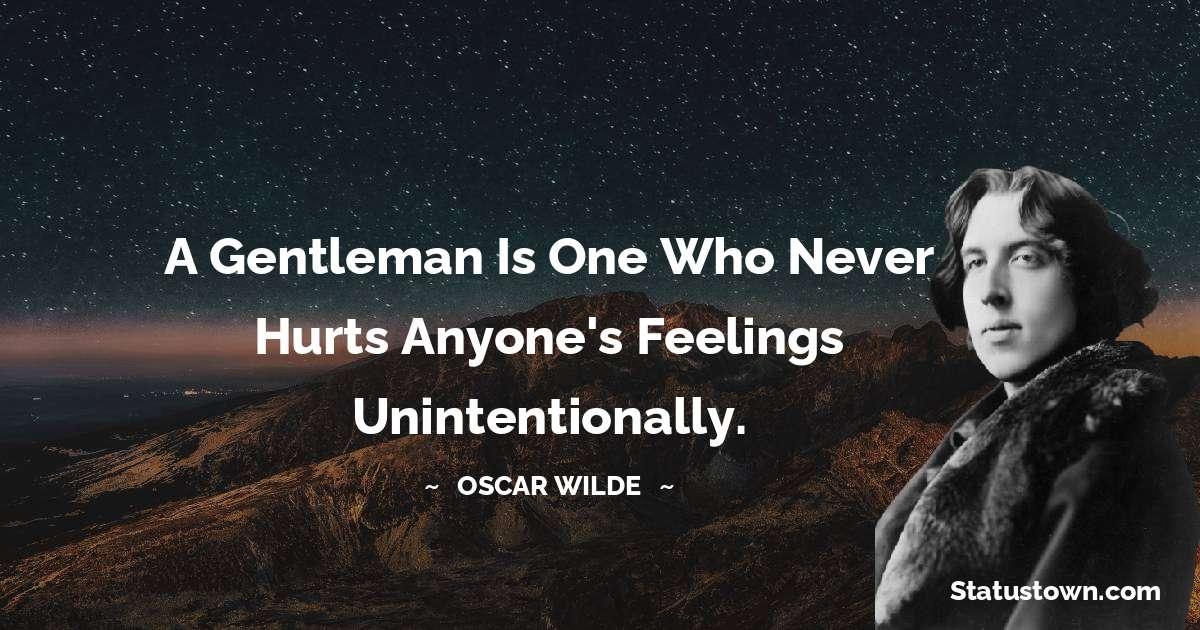 Oscar Wilde  Unique Quotes