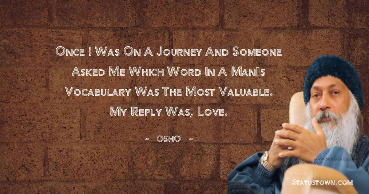 Osho  Thoughts