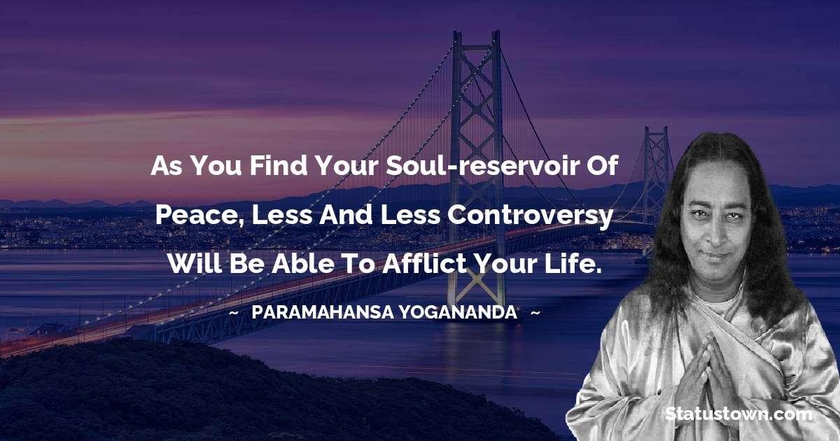 paramahansa yogananda Status