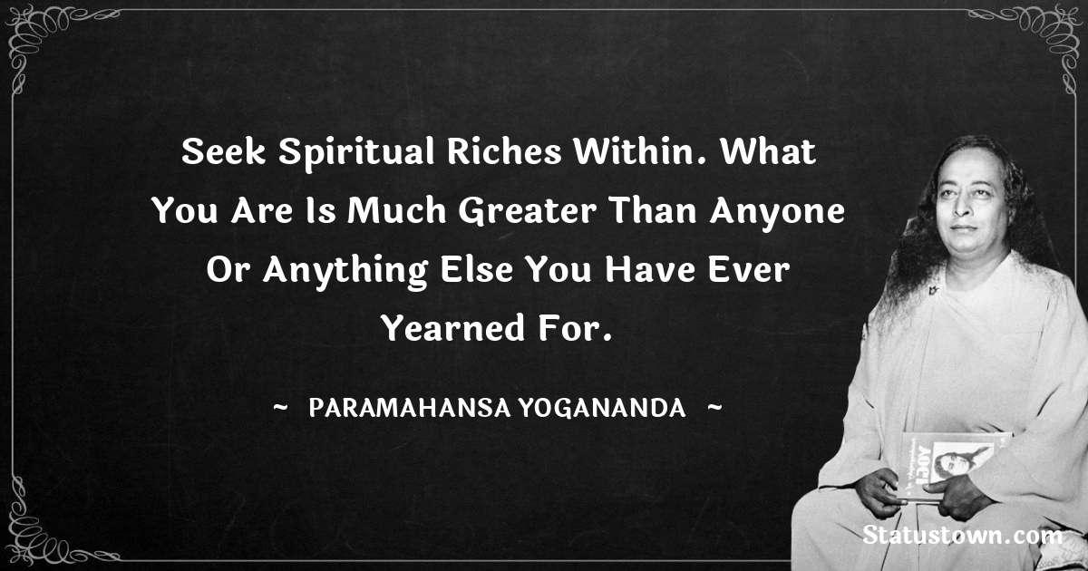 paramahansa yogananda Positive Thoughts