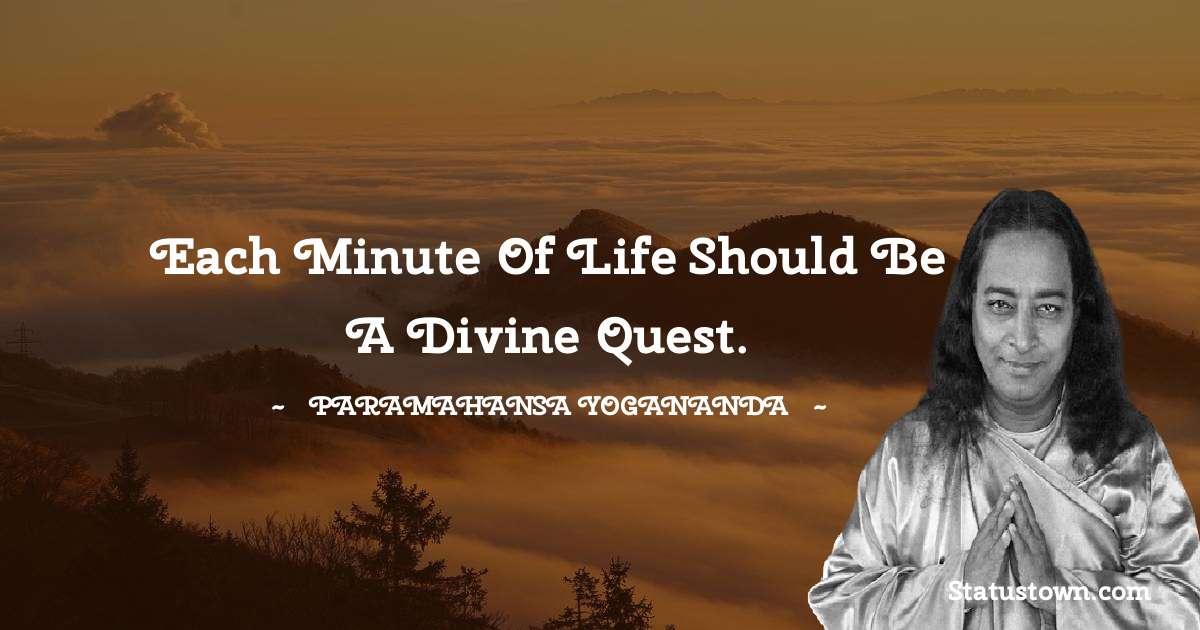 paramahansa yogananda Thoughts