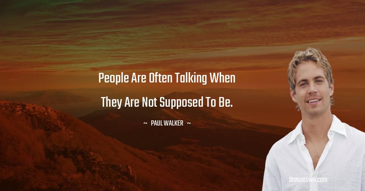 Paul Walker Thoughts