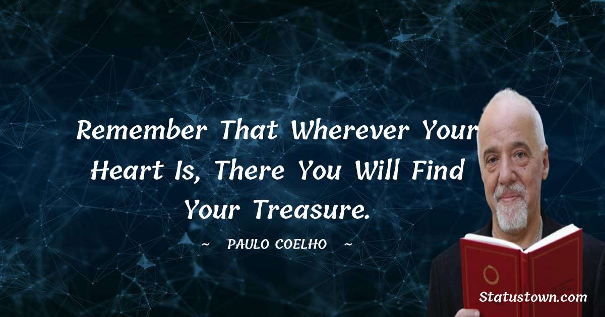 Paulo Coelho Status