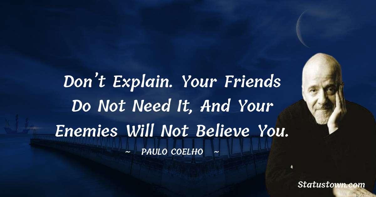 Paulo Coelho Quotes images