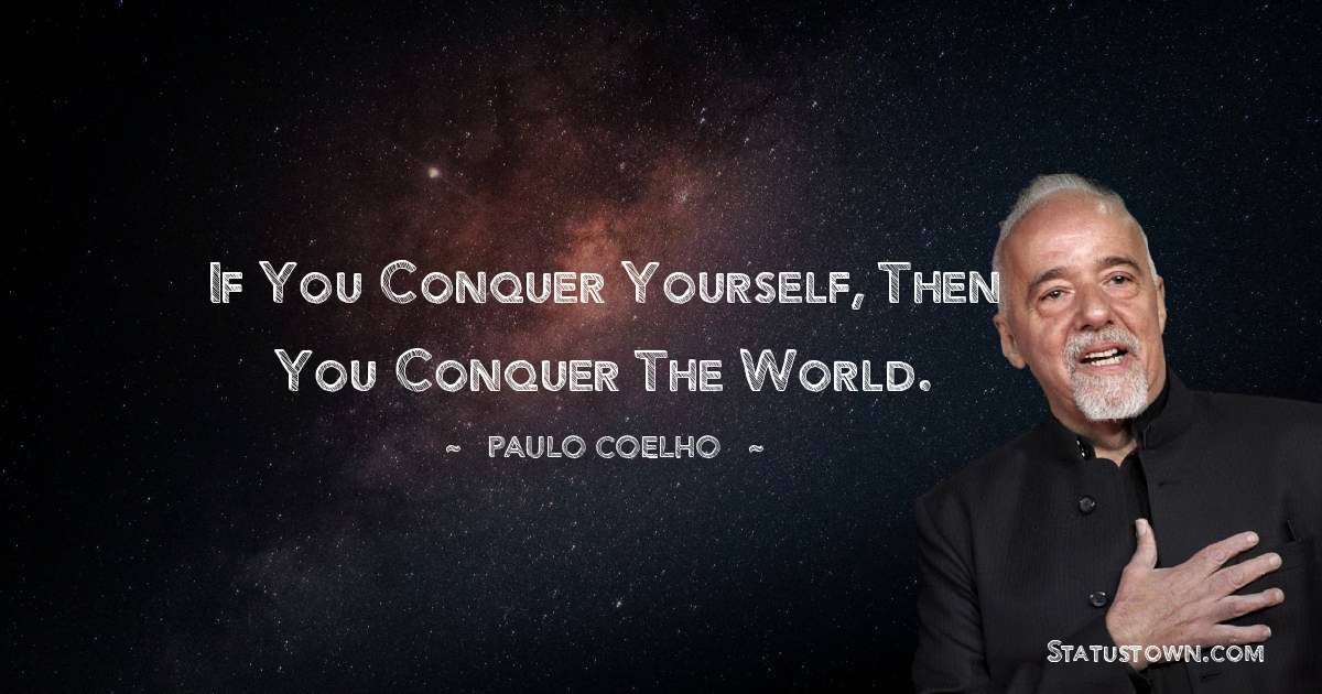 Paulo Coelho Positive Thoughts