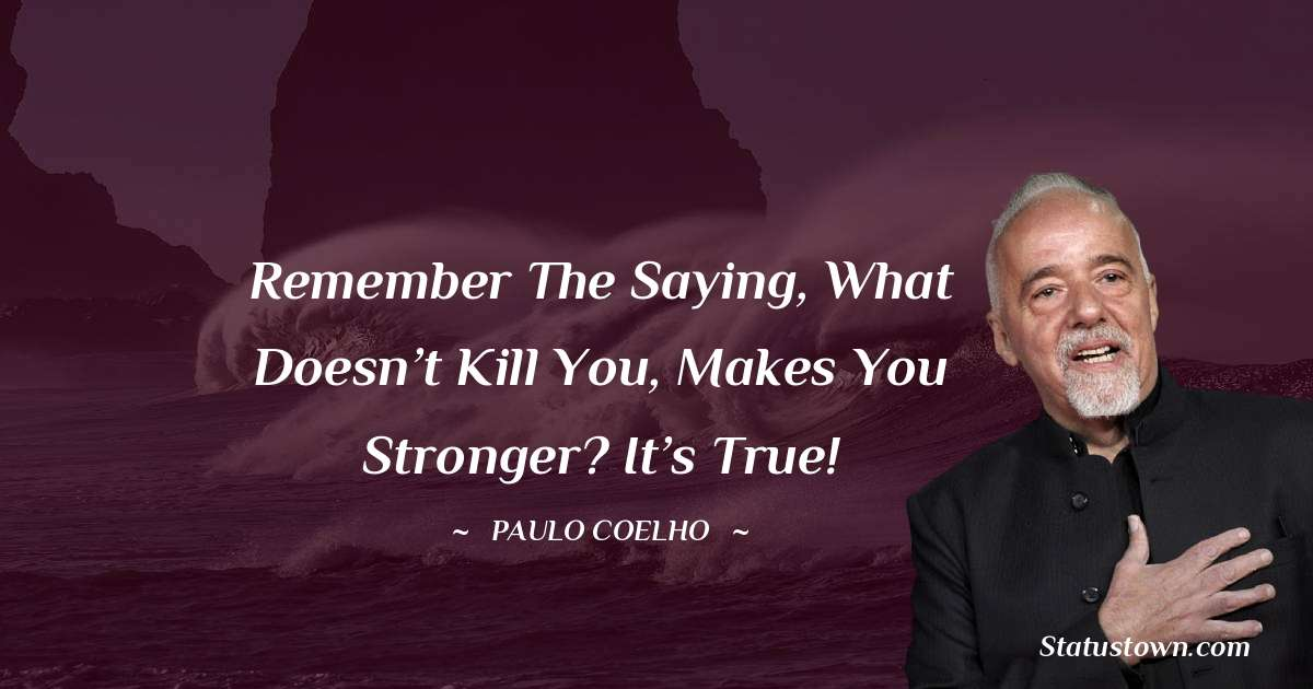 Paulo Coelho Thoughts