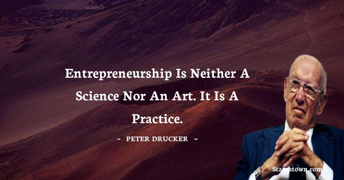 Peter Drucker Positive Quotes