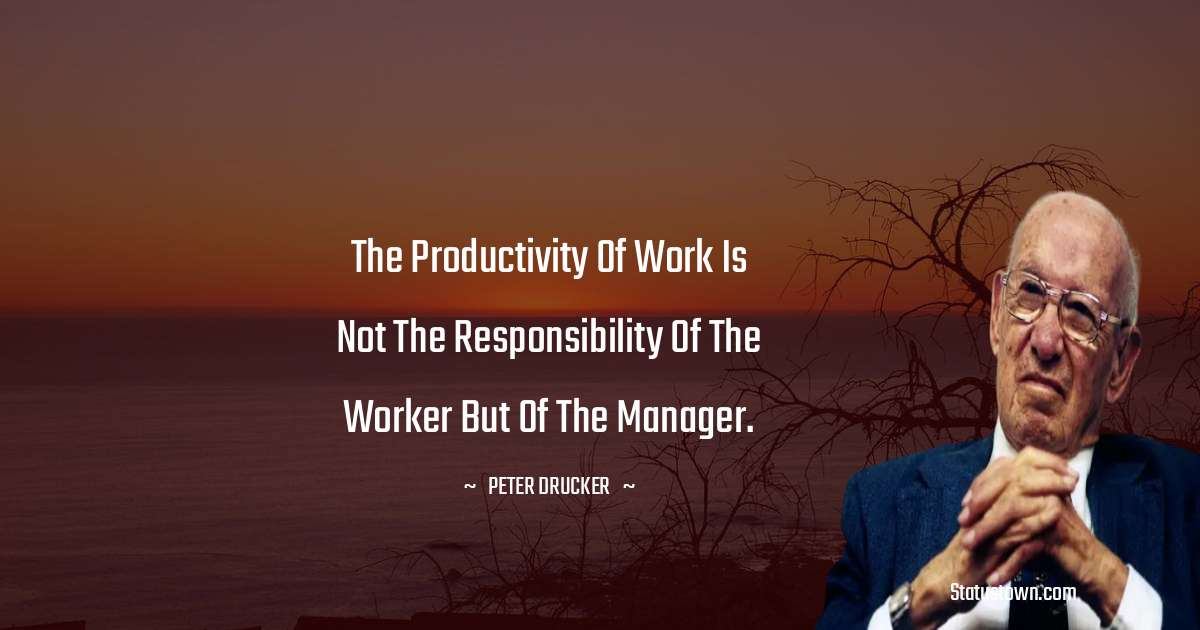 Peter Drucker Quotes for Students