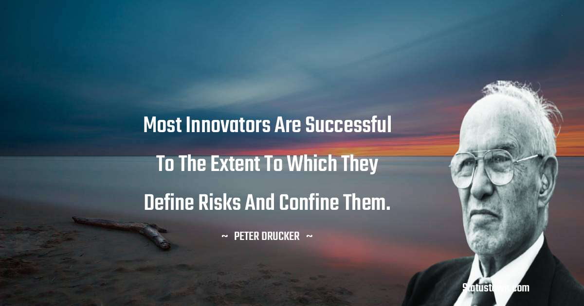 Peter Drucker Quotes for Success