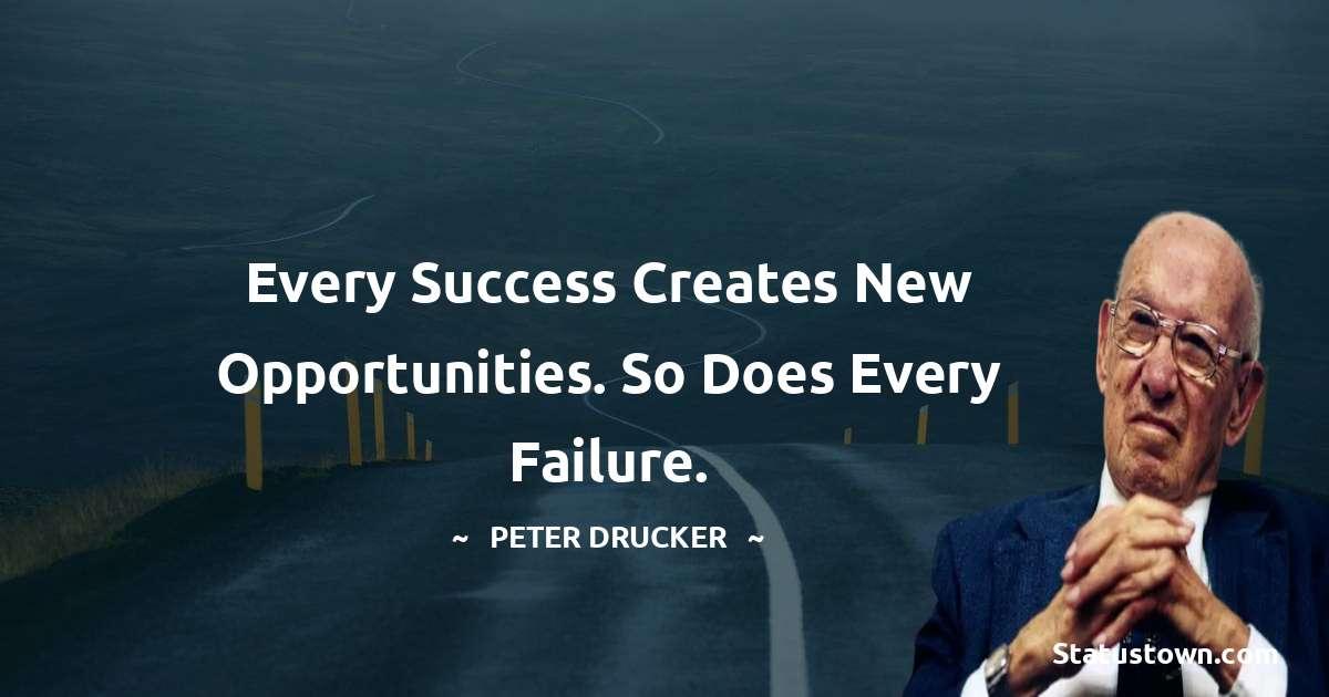Peter Drucker Encouragement Quotes