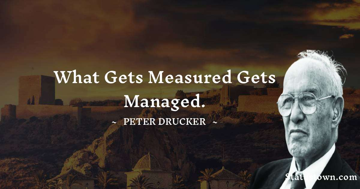 Peter Drucker Motivational Quotes