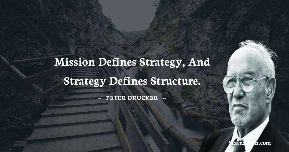 Peter Drucker Status