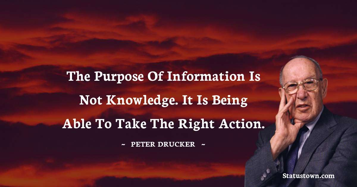 Peter Drucker Quotes images