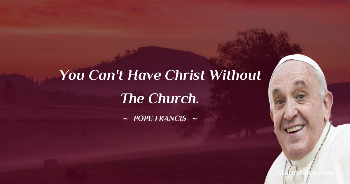 Pope Francis Positive Thoughts