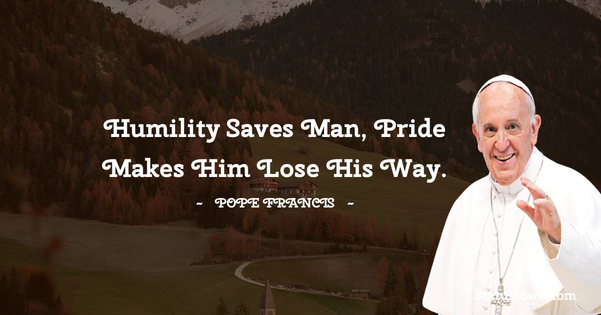 Pope Francis Thoughts