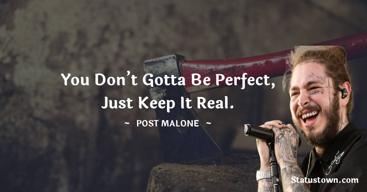 Post Malone Quotes images