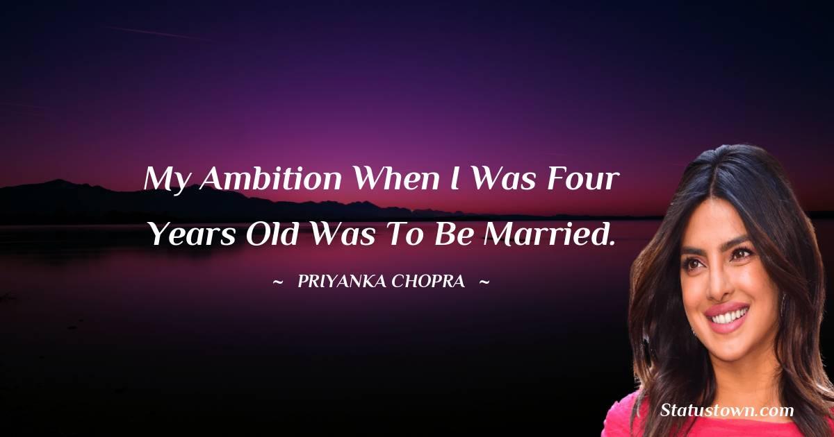 Priyanka Chopra Short Quotes
