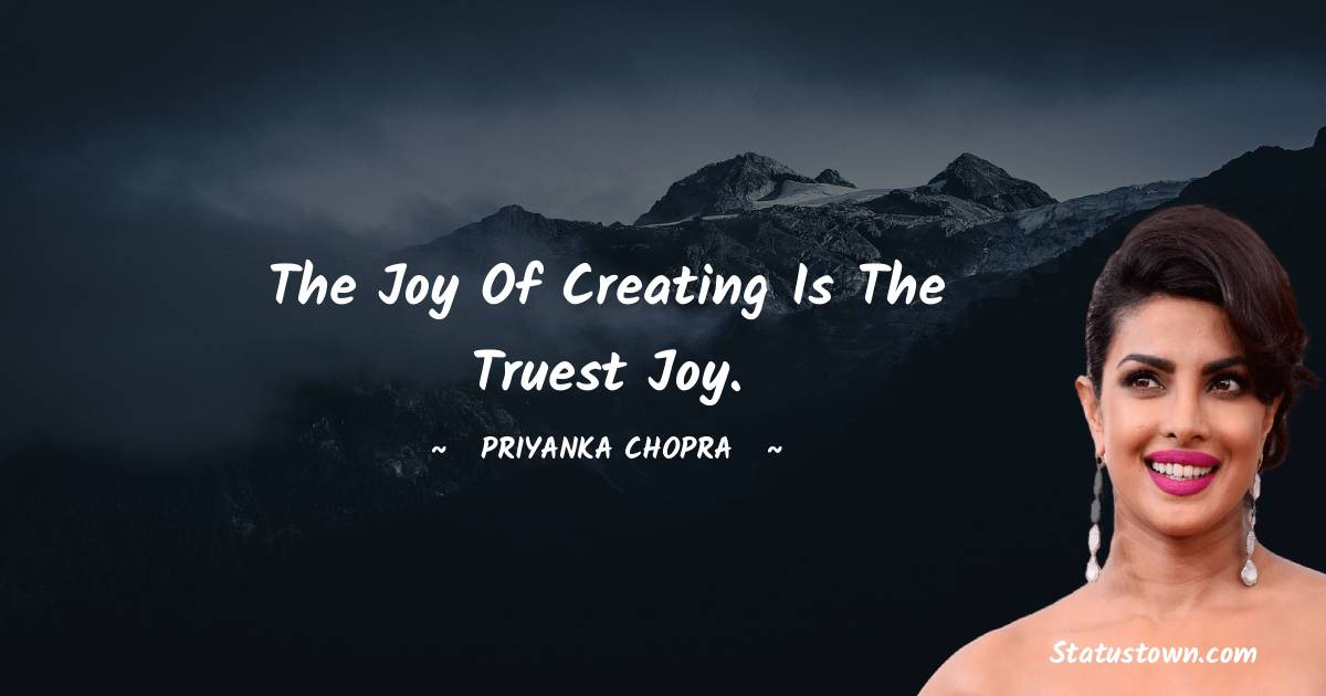 Priyanka Chopra Motivational Quotes