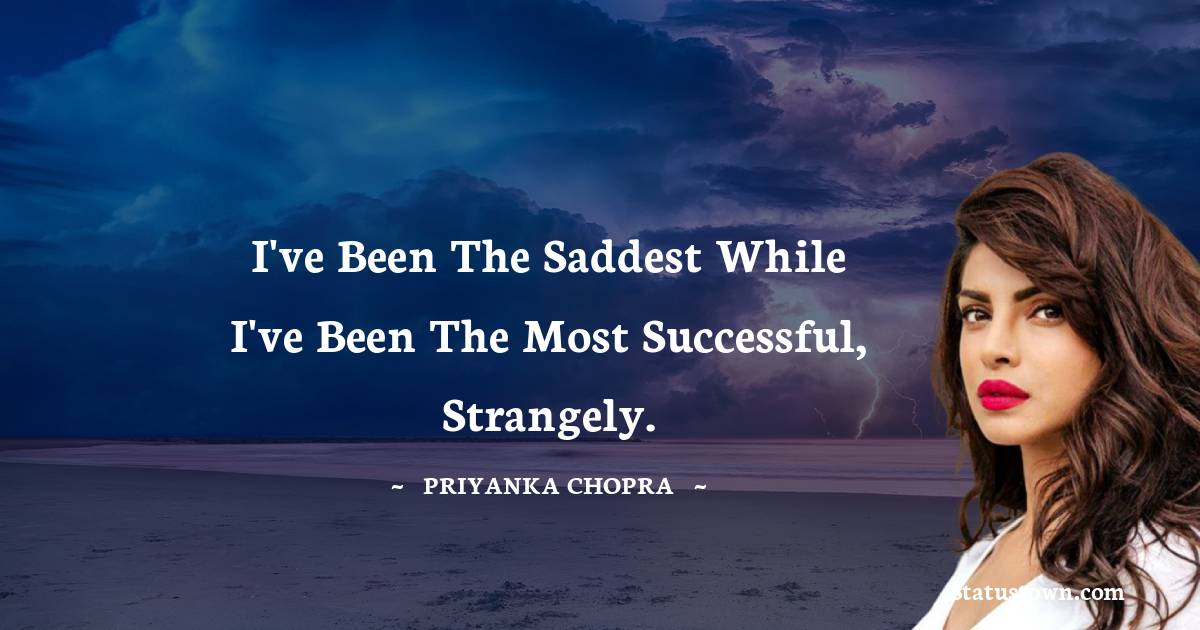 Priyanka Chopra Positive Quotes
