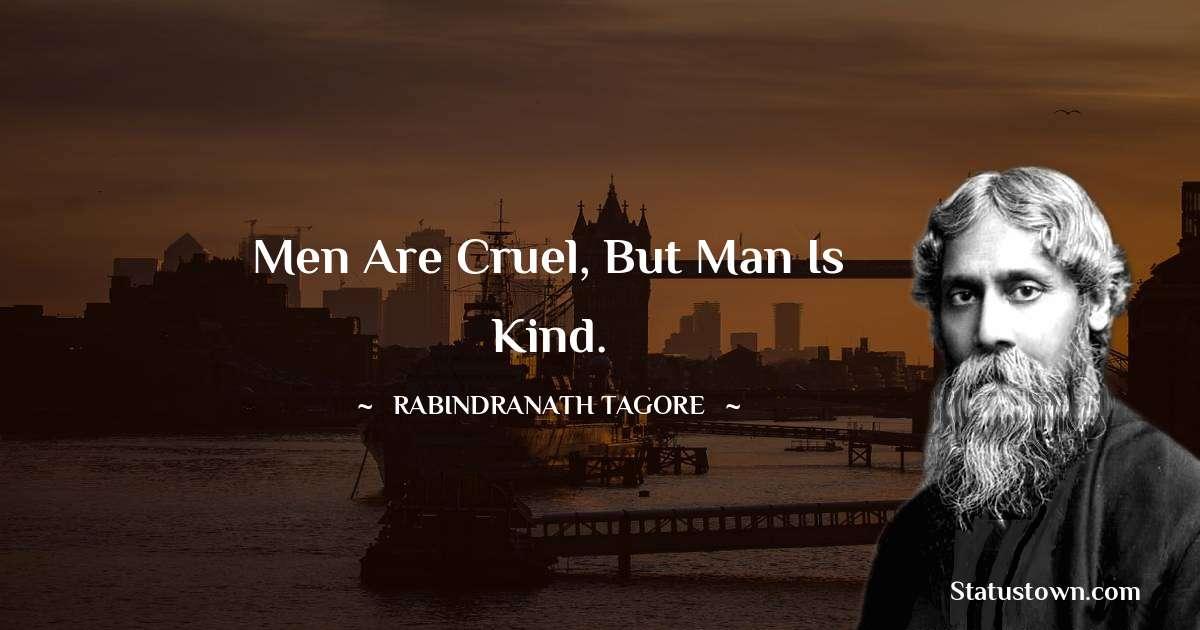Rabindranath Tagore Motivational Quotes