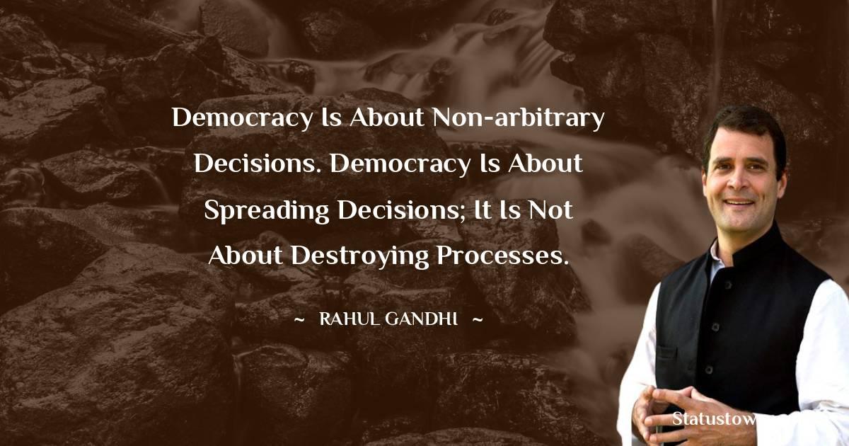 Rahul Gandhi Positive Thoughts