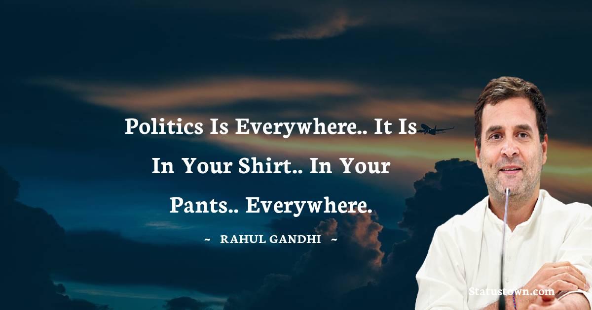 Rahul Gandhi Thoughts