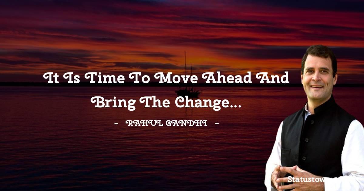 Rahul Gandhi Unique Quotes