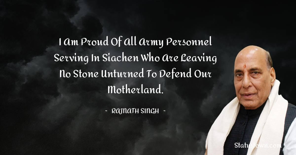 Rajnath Singh Short Quotes