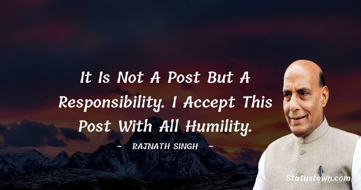 Rajnath Singh Motivational Quotes