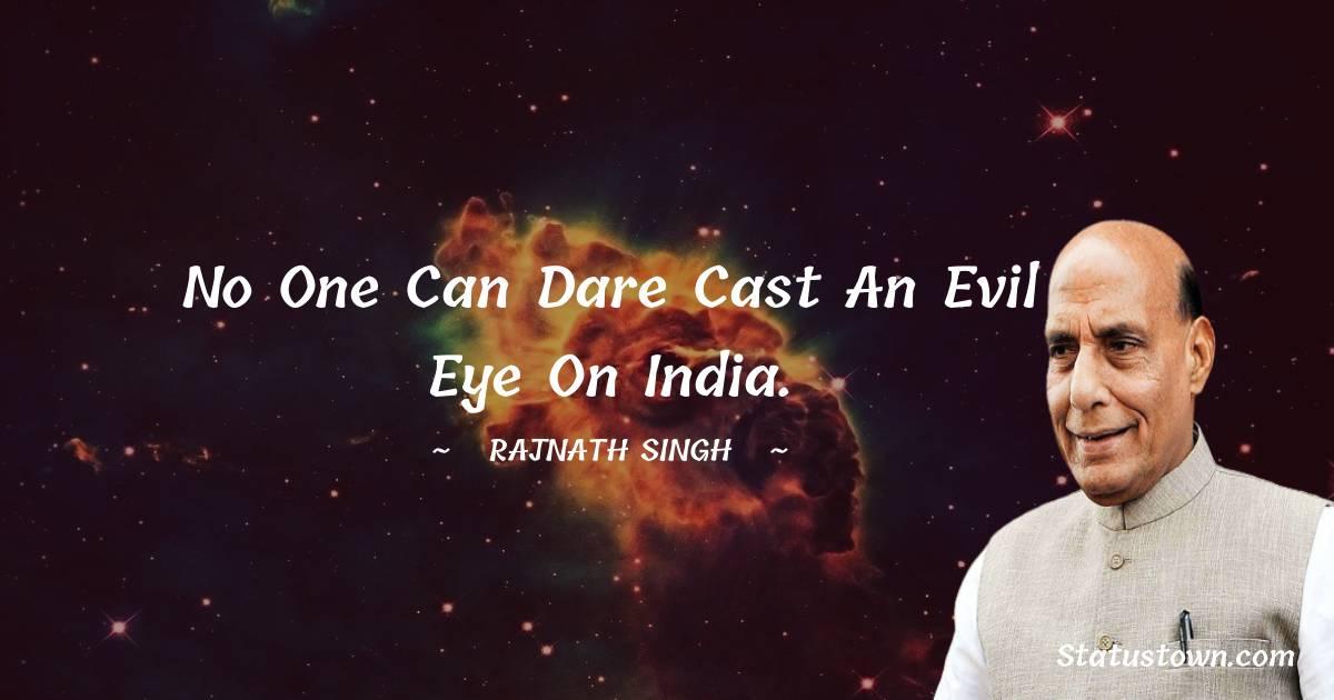Rajnath Singh Unique Quotes