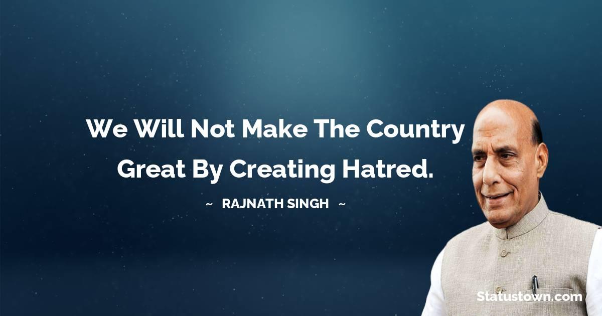 Rajnath Singh Quotes