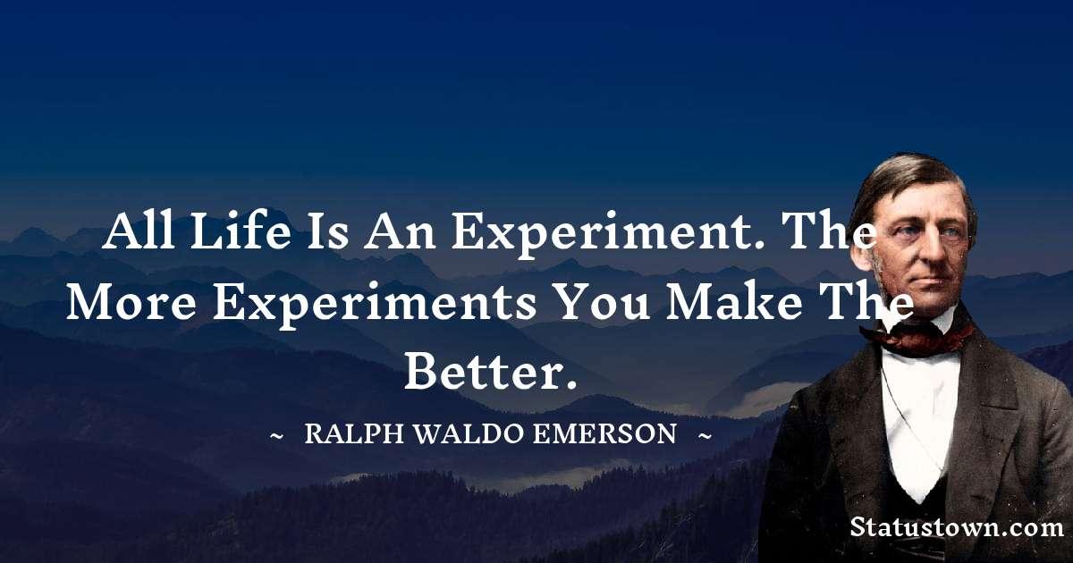 Ralph Waldo Emerson Status