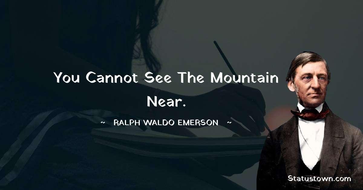 Ralph Waldo Emerson Positive Quotes